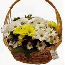 Сувениры - Овальная подарочная корзина 35*10*35*20 см, 0