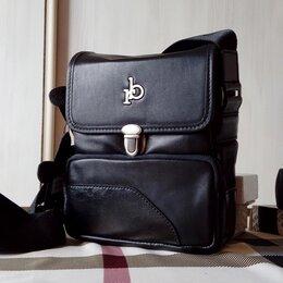 Сумки - Мужская кожаная сумка Roccobarocco, 0