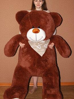 Мягкие игрушки - Плюшевый медведь 180 см бурый, 0