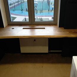 Подоконники - Подоконник-стол из слэба карагача, 0