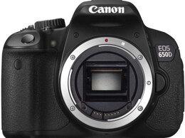 Фотоаппараты - Canon EOS 650D Body, 0