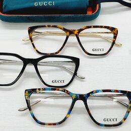 Очки и аксессуары - Оправа женская Gucci роговая / 504 очки дисконт, 0