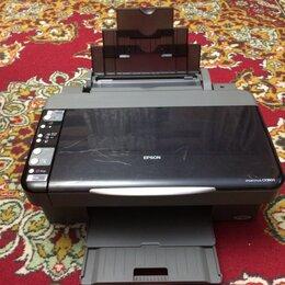 Принтеры, сканеры и МФУ - Мфу Epson CX3900 в исправном состоянии заправлен, 0