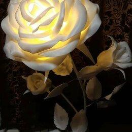 Интерьерная подсветка - Светильник торшер из изолона Роза, 0