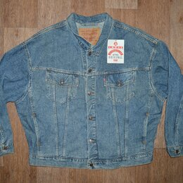 Куртки - Куртка джинсовая Levis, новая, 1992г, Made in USA, 0