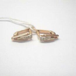 Серьги - Серьги золото 585, 0
