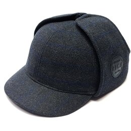 Головные уборы - Кепка Шерлок Холмс мужская (т. серый), 0