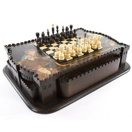 Настольные игры - Шахматы в ларце «Хоббит», 0