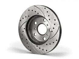 Тормозная система  - Перфорированные тормозные диски. Все авто.…, 0