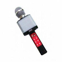 Микрофоны - Светящийся караоке-микрофон WS 1828 Черный, 0