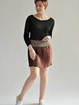 Юбки - Плиссированная юбка мини, 0