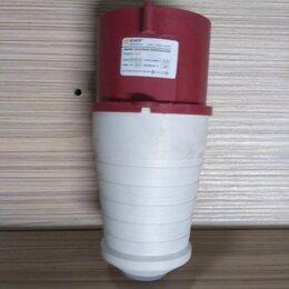 Электроустановочные изделия - Вилка переносная 025 3Р+РЕ+N 32А 380В IP44 EKF, 0