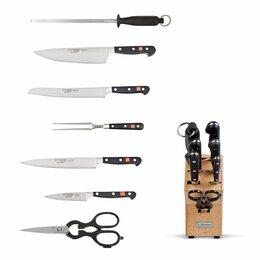 Наборы ножей - Набор кухонных ножей 7 предметов Burgvogel Solingen, 0