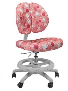 Компьютерные кресла - Кресло Duo-Kid Standart ортопедическое розовое с…, 0