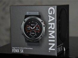 Умные часы и браслеты - Garmin Fenix 5X Sapphire (новые, запечатанные), 0