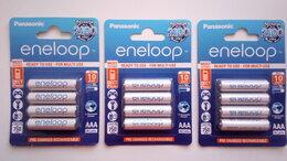 Батарейки - Аккумулятор Panasonic Eneloop, Ni-Mh, тип AAA, 750, 0