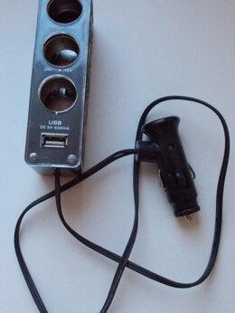 Зарядные устройства и адаптеры - Разветвитель гнезда прикуривателя на 3 порта +…, 0