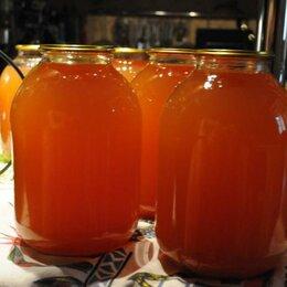 Продукты - Яблочный сок натуральный , 0