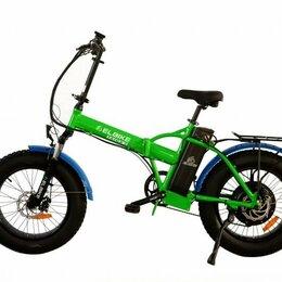 Мототехника и электровелосипеды - Электровелосипед Elbike TAIGA 2 VIP зеленый, 0
