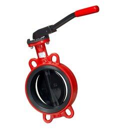 Элементы систем отопления - Затвор дисковый поворотный FLN5-065-MN-HT Ду 65, 0