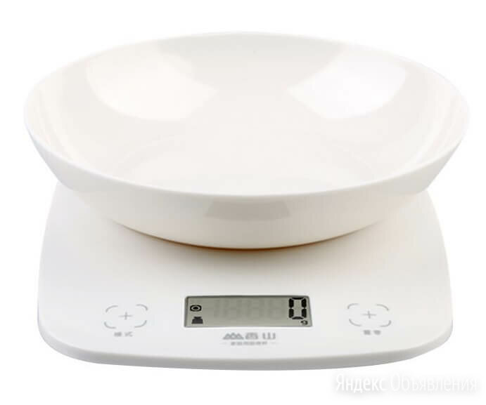 Весы кухонные электронные Xiaomi Senssun Electronic Kitchen Scale EK9643K Whi... по цене 1590₽ - Кухонные весы, фото 0