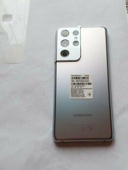 Мобильные телефоны - Samsung Galaxy S21 Ultra 256 гб серебро, 0