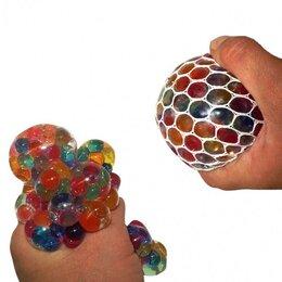 Игрушки-антистресс - Мяч антистресс Лизун в сетке, 0