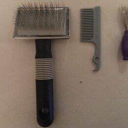 Груминг и уход - Набор из 3: пуходерка, расческа, щетка для очистки, 0