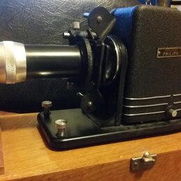 Аксессуары и запчасти - Плёночный диапроектор Philips в деревянном футляре, 0