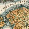 Гравированная кабинетная карта 1758 года России и северных стран S6710 по цене 220000₽ - Гравюры, литографии, карты, фото 16