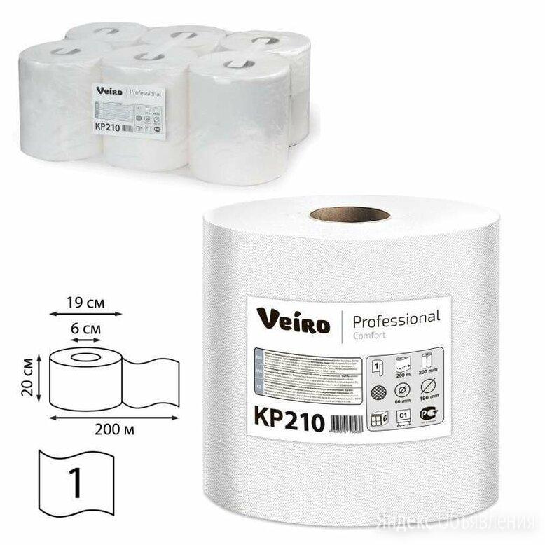 Полотенца бумажные с центральной вытяжкой 200 м, VEIRO (Система M2) COMFORT, ... по цене 2365₽ - Мебель для кухни, фото 0