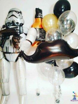 """Воздушные шары - Композиция """"Штурмовик и бутылочка Виски"""", 0"""
