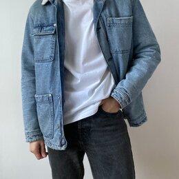 Куртки - Джинсовая мужская куртка Zara, 0