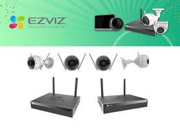 Готовые комплекты - Комплект на 4камеры EZVIZ C3W Color Night Pro+X5S., 0