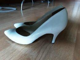 Туфли - Туфли белые натуральная кожа 37 р-р, 0