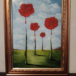 """Картины, постеры, гобелены, панно - Картина""""Магнетические розы"""", 0"""