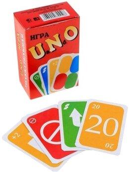 Настольные игры - Игра настольная карточная Уно Мини UNO мини, 0