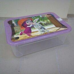 Хранение игрушек - Ящик для игрушек Маша и Медведь. /Новый/., 0