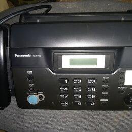 Факсы - Факс (факсимильный аппарат) Panasonic KX-TF932RUB, 0