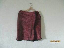Юбки - Велюровая юбка, 0