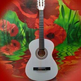Акустические и классические гитары - Гитара классическая белая, 0