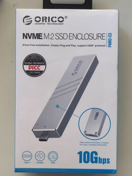 Внешние жесткие диски и SSD - Кейс для SSD NVMe, 0