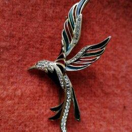 Броши - Брошь винтажная Christian Dior Bird, 0