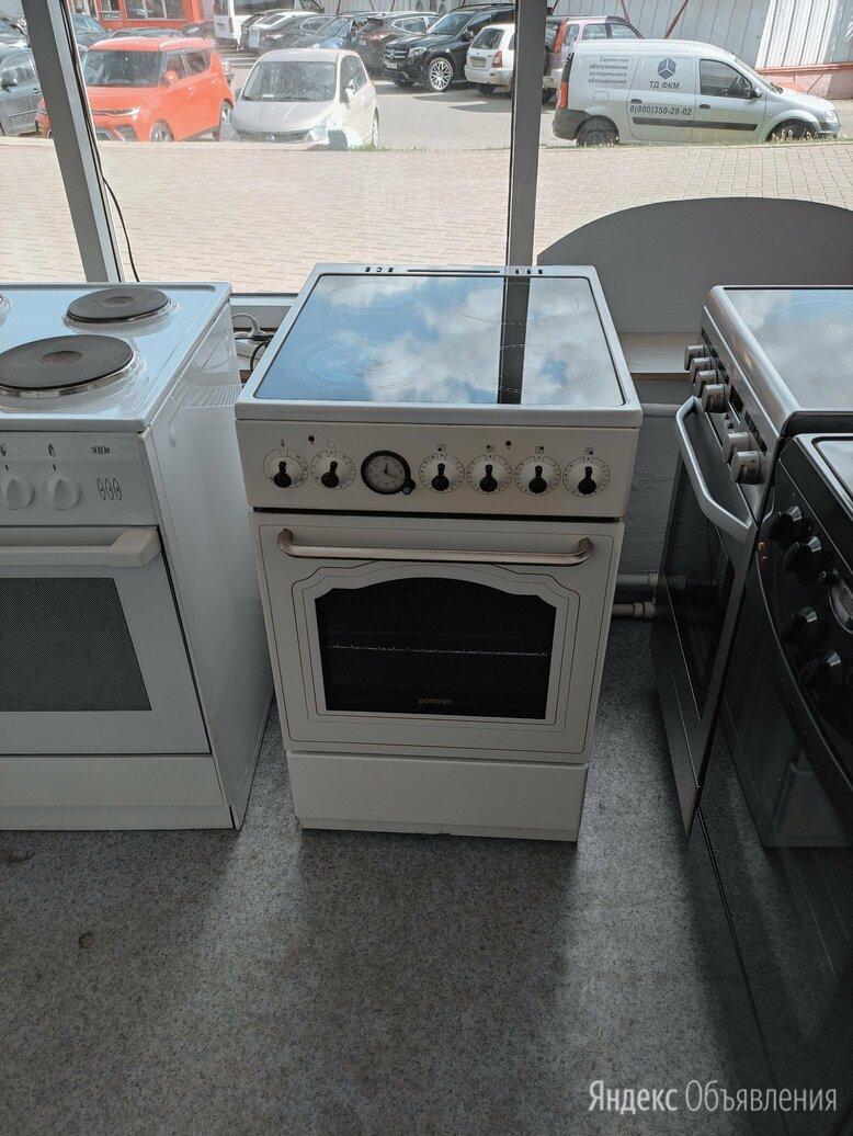 50см керамика электрическая плита ретро GORENJE по цене 11500₽ - Плиты и варочные панели, фото 0