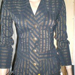 Блузки и кофточки - Рубашка женская в полоску р. 44-46 новая Турция, 0