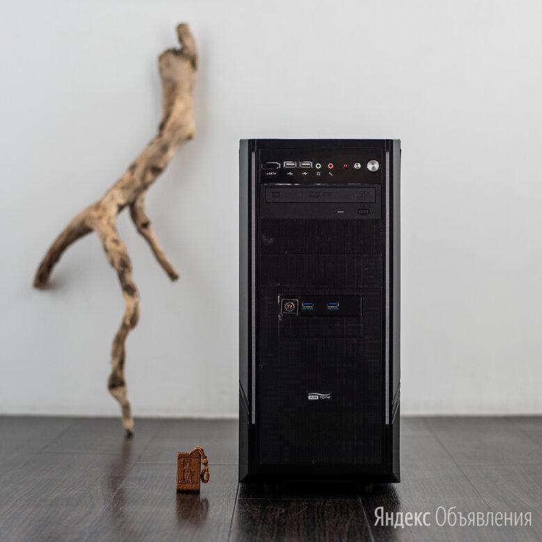 ПК Core i7(4x3.8Ghz)/32Gb/370SSD/600Gb(10000rpm)/DVD-RW/800W по цене 45000₽ - Настольные компьютеры, фото 0