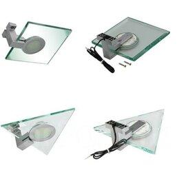 Ночники и декоративные светильники - Светильник накладной для кухни стеклянный с фазкой., 0