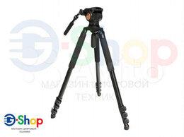 Штативы и моноподы - Видеоштатив гидро до 18 кг до 192см Fujimi FT22V, 0