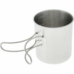 Туристическая посуда -  Кружка со складными ручками и мерной шкалой, Tramp, 0