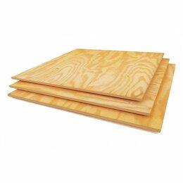 Древесно-плитные материалы - Фанера березовая 40 мм. 2440x1220 (3/4)…, 0